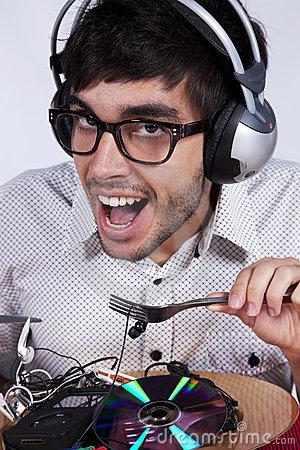 DJ fou