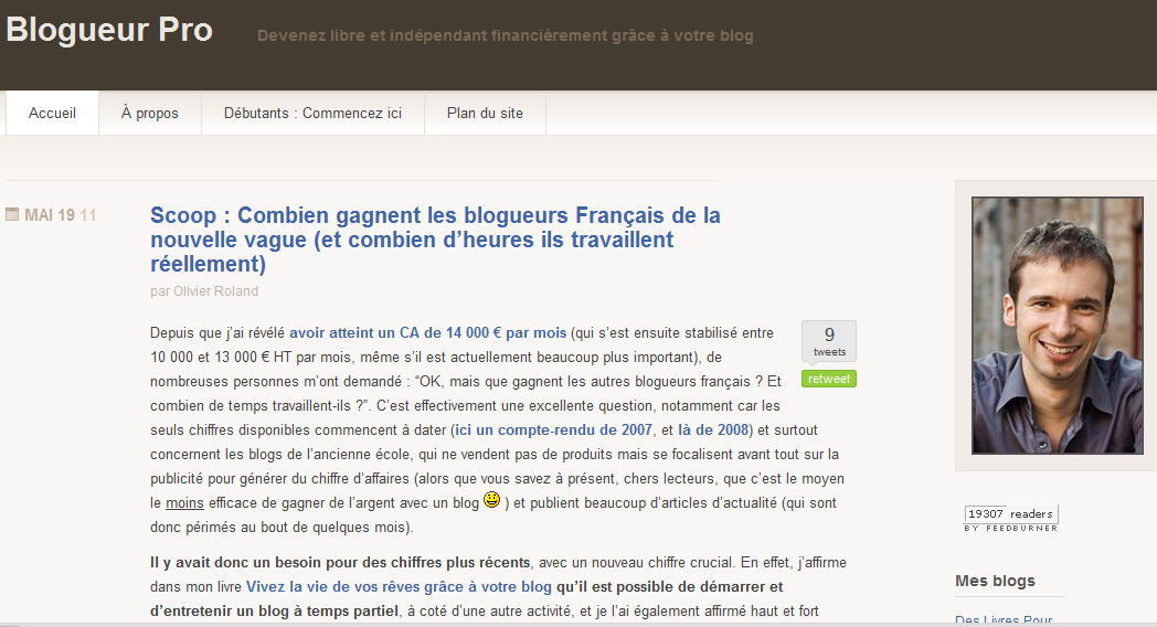 blogueur pro olivier roland