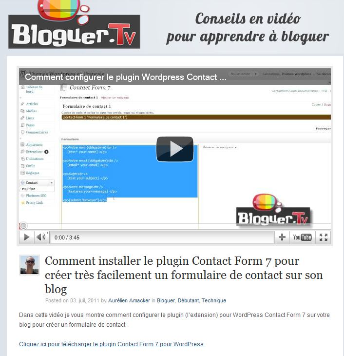 bloguer tv